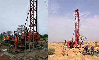 GSD-IIA drilling rig construction in North Sudan